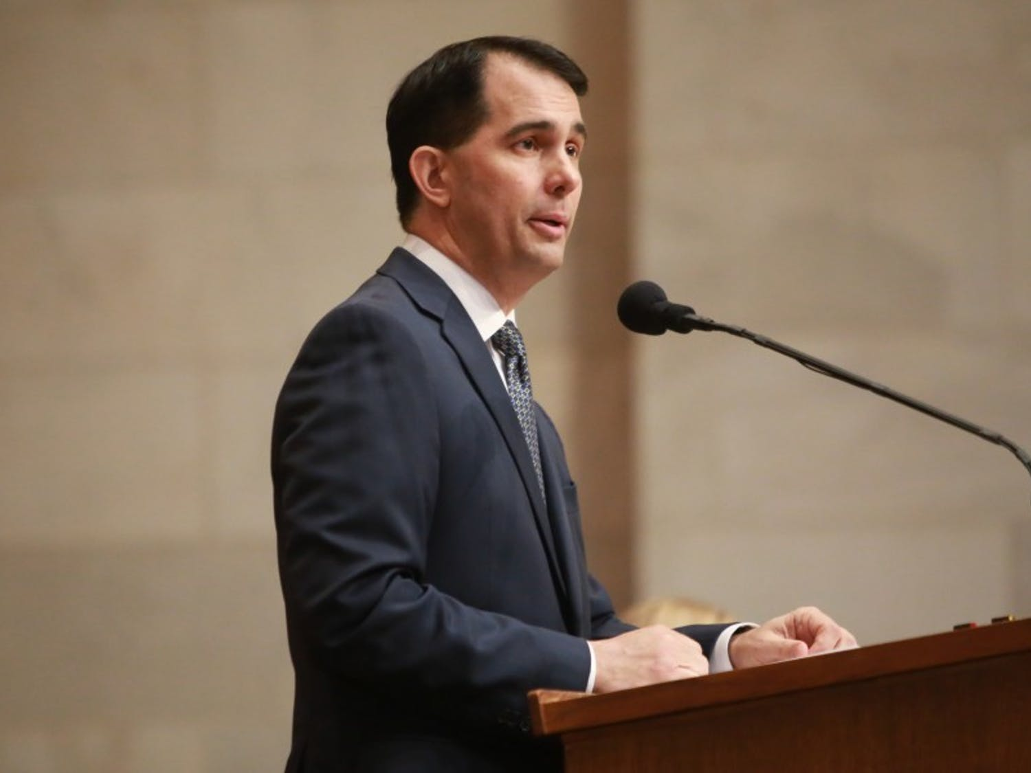 Gov. Scott Walker signed a $3 million subsidy for the Taiwanese electronics company Foxconn Monday.