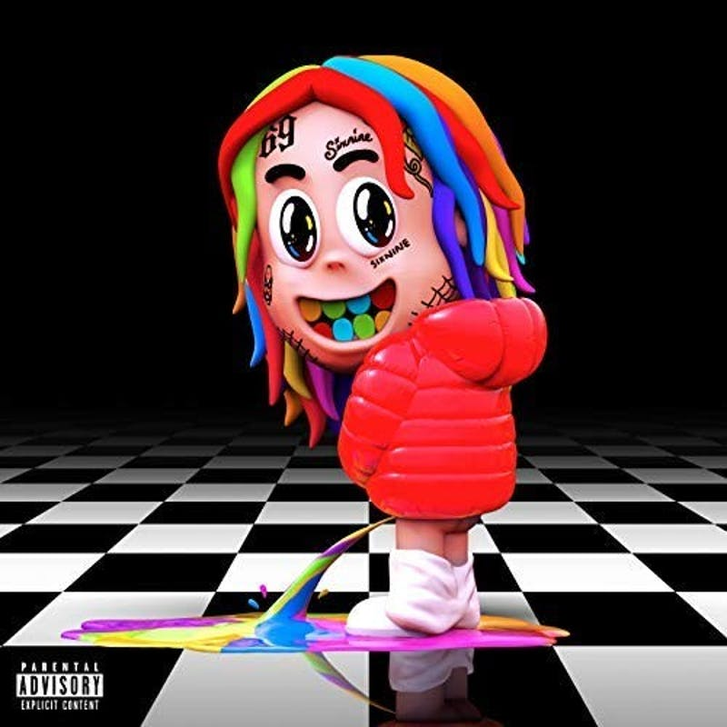 Controversial rapper Tekashi 6ix9ine's major label debut attempts to show off his versatility but ends up being nothing more than generic.
