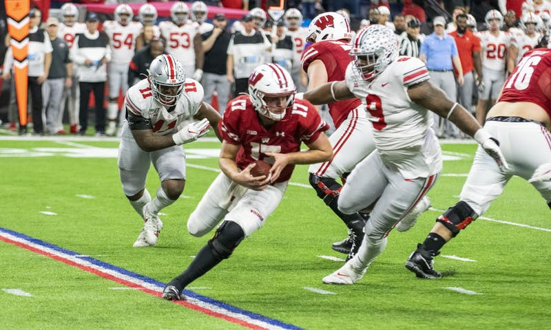Jack Coan looked like Lamar Jackson in the first half, but the Badgers regressed in the second half to fold to Ohio State.