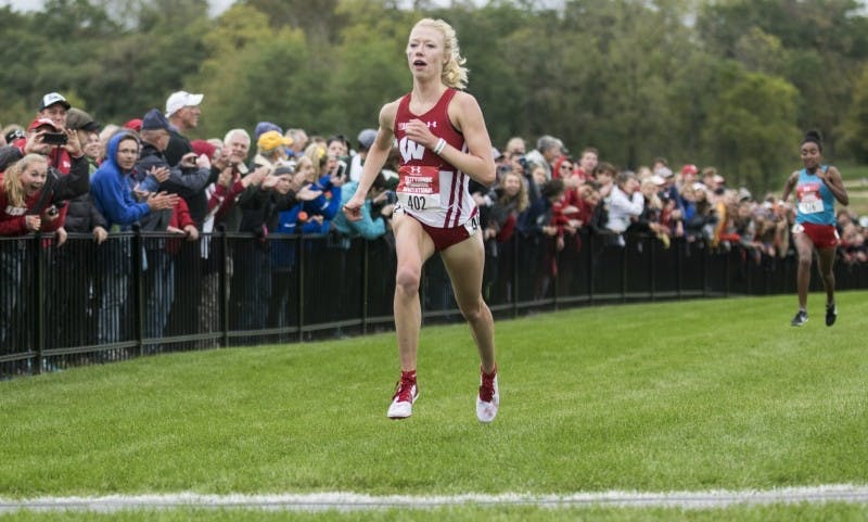 Junior Alicia Monson won the Nuttycombe Invitational, and is one of two Badgers vying for an individual title on Saturday at the same course.
