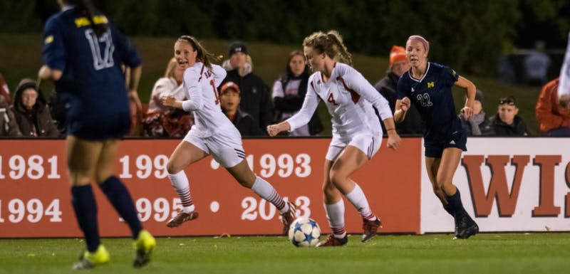 Junior Micaela Powers scored in the 81st minute to push the Badgers past Maryland and give them their second Big Ten title in school history.