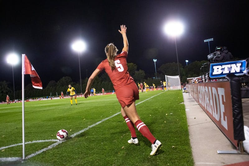 The Badgers women's soccer team has started 5-0 in Big Ten play for the first time in their history.