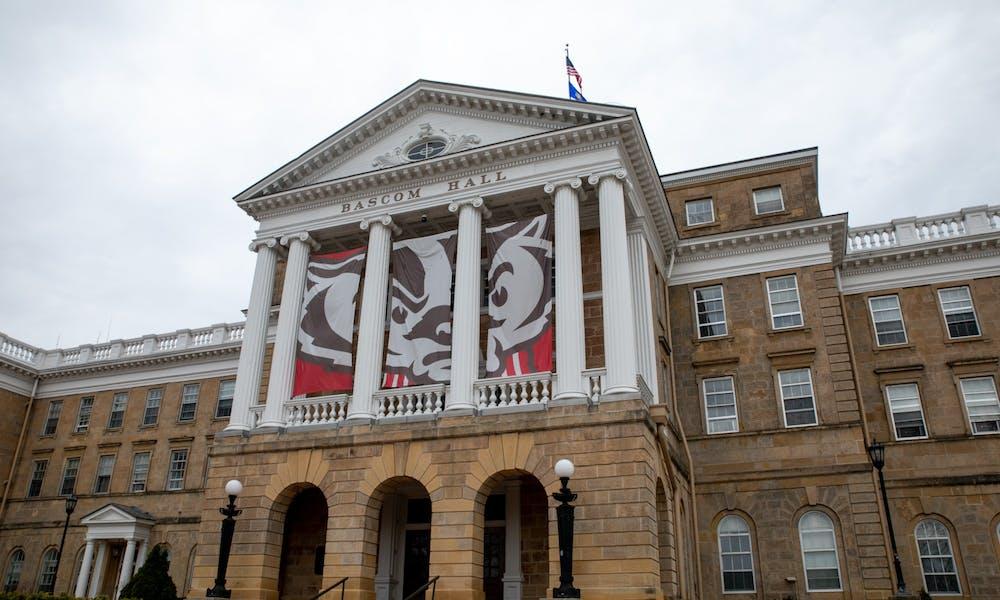 Photo of Bascom Hall.