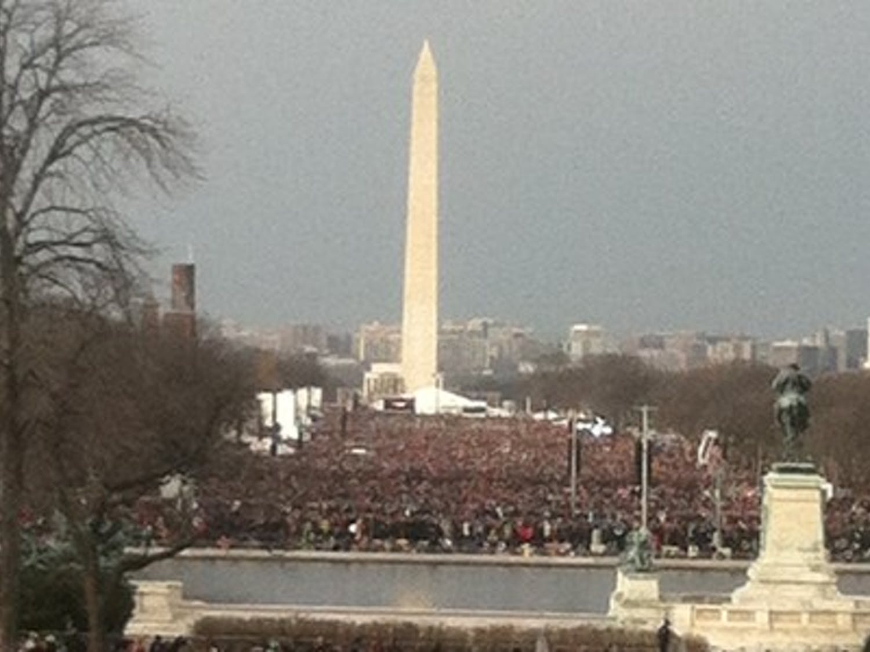 Presidential inauguration speech