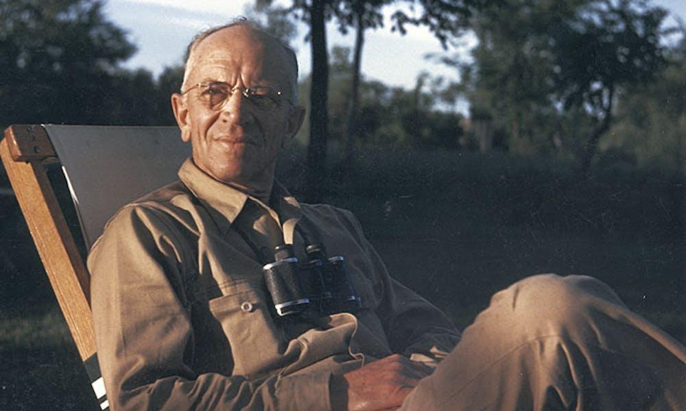 Photo of Aldo Leopold.