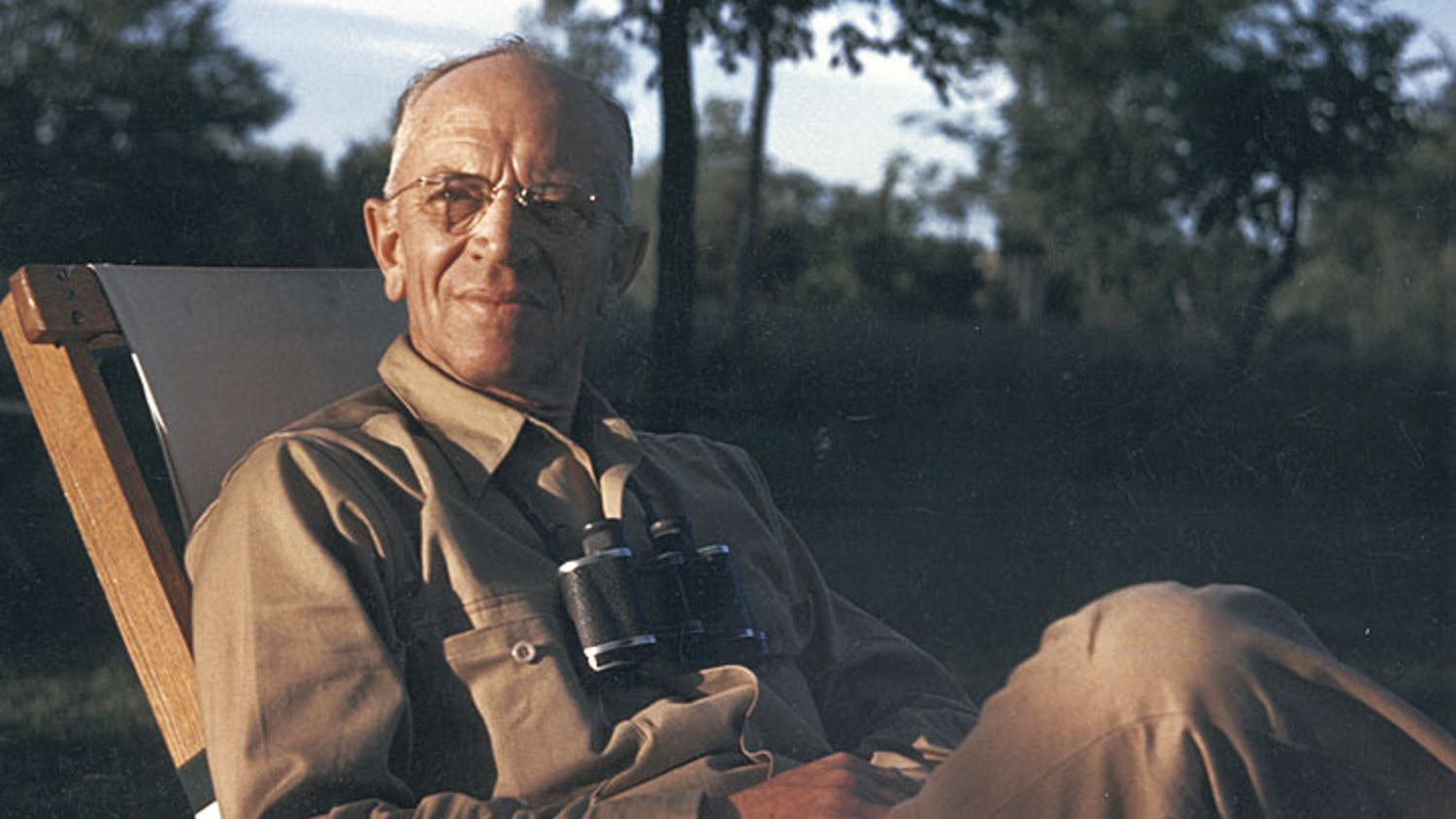 Photo of Aldo Leopold.