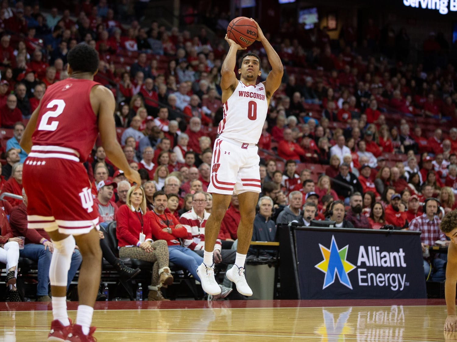 D'Mitrik Trice scored 11 Wednesday, providing a spark in the second half for the Badgers.