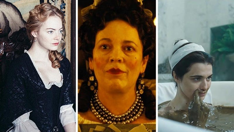 """""""The Favourite"""" encompasses the unique acting of 3 actresses to create an unconventional story of humor."""