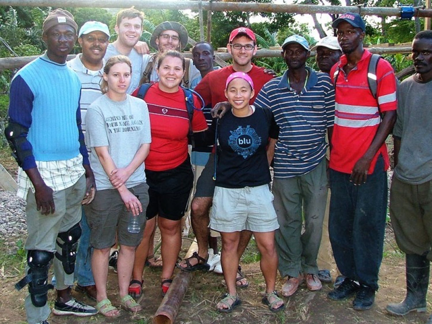 Searching for buried hope: UW students work to keep Haiti fresh in our minds