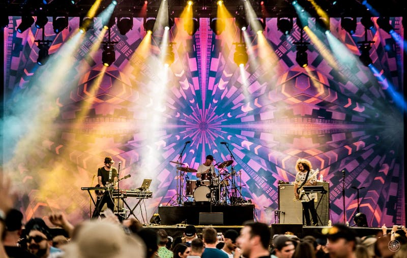 Colorado based trio SunSquabi will be performing at The Sylvee with The Floozies and Late Night Radio.