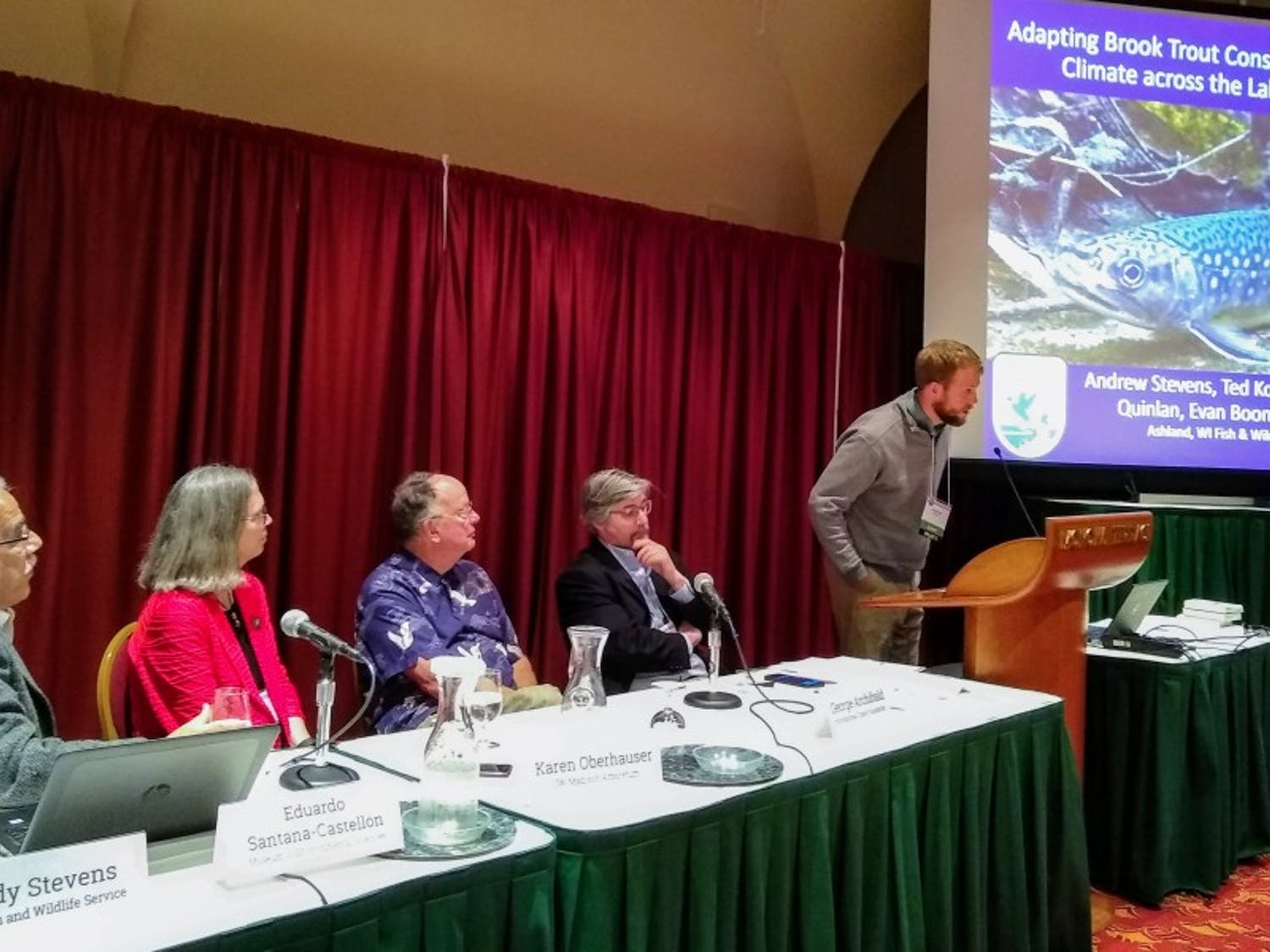 A conference at Monona Terrace hosted by the Nelson Institute showcased climate research and opened discussions surrounding solutions with hopes of encouraging social and environmental activism.