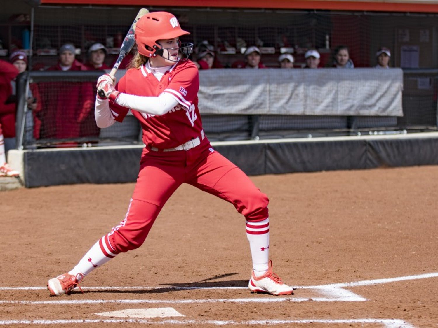 Melanie Cross's grand slam helped UW win both of its games this weekend and take the series against Purdue.