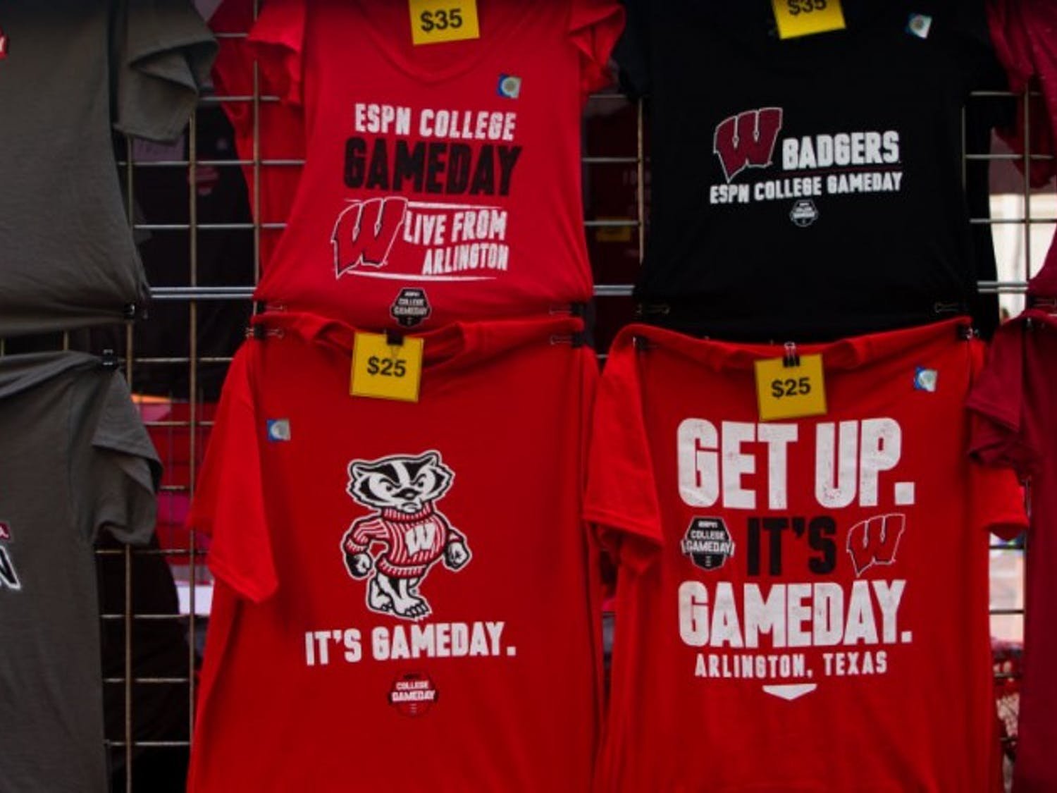 In advance of Wisconsin's season opener against Alabama in Arlington, Texas, ESPN's College GameDay football pregame show took place Saturday, Sept. 5 at Sundance Square in Fort Worth, Texas.