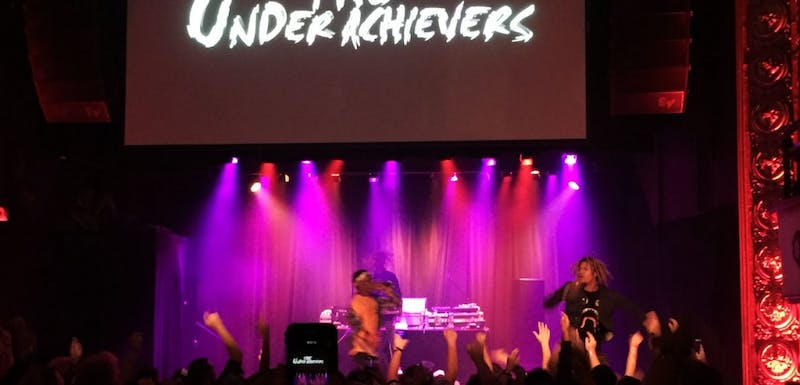 The Underachievers performed at the Majestic Thursday night.