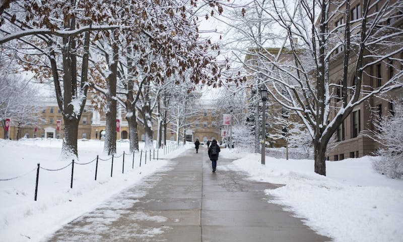 This year's influx in winter weather is more than just inconvenient, it makes getting around on campus downright dangerous.