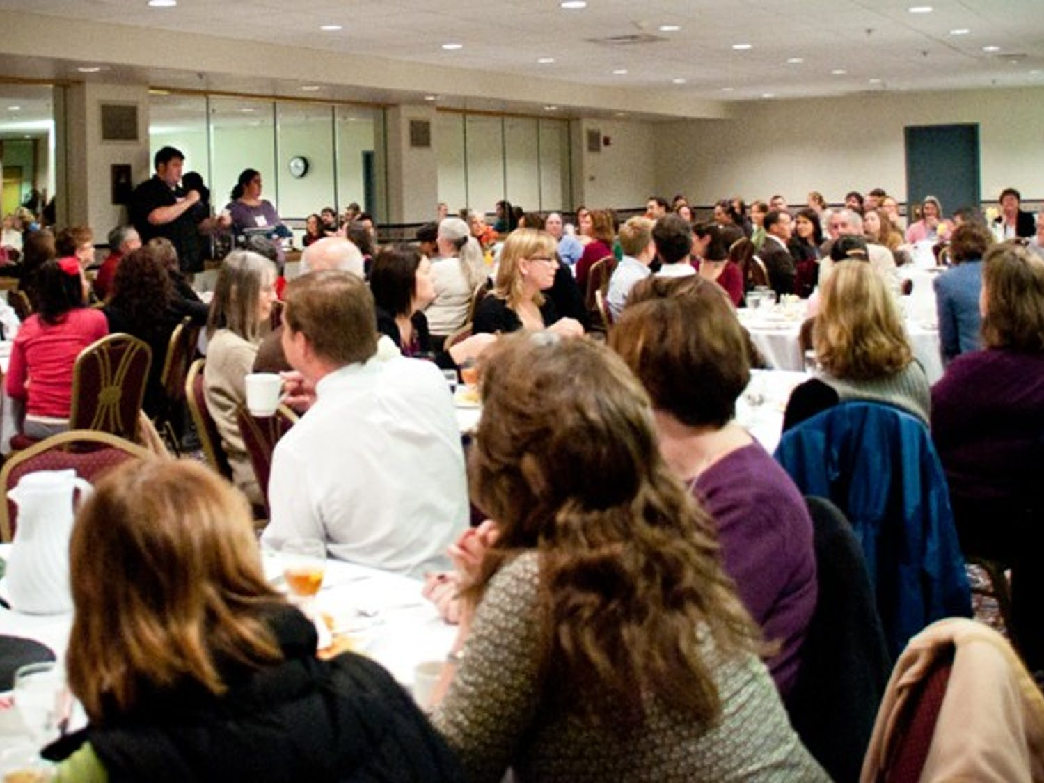 Speakers discussed ways to improve programs for students transitioning to UW-Madison at a conference Friday. Topics included ways to attract transfer students to the university.