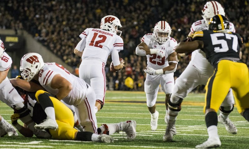 Establishing the run early will be key for Wisconsin as it looks to help quarterback Alex Hornibrook bounce back from a rough performance at Michigan.
