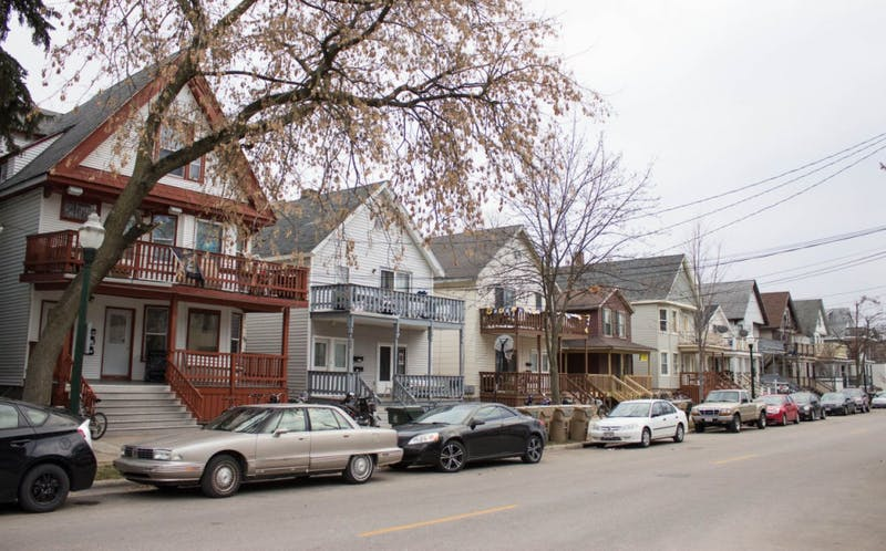 Want to be in the center of Madison's house party scene? Look no further than Mifflin Street.