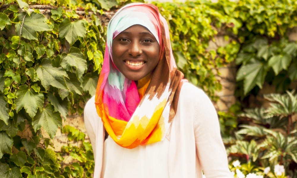 Fatoumata Ceesay is a freshman at UW-Madison, learning about her identity through multicultural experiences.