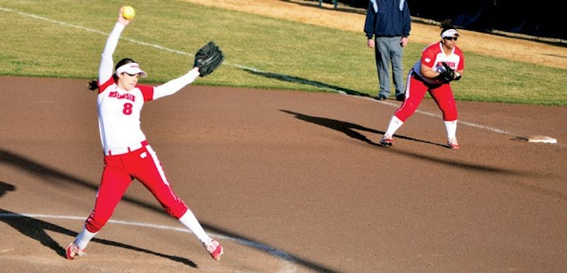 Senior pitcher Cassandra Darrah provided four and one-third innings of strong relief Saturday.
