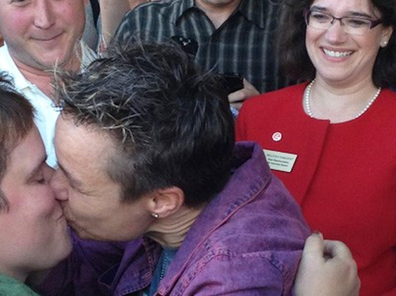 Same-sex marriage ban overturned