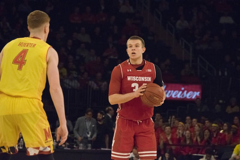 Sophomore guardBrad Davison and the Badgers hope to get back to the NCAA Tournament this season.
