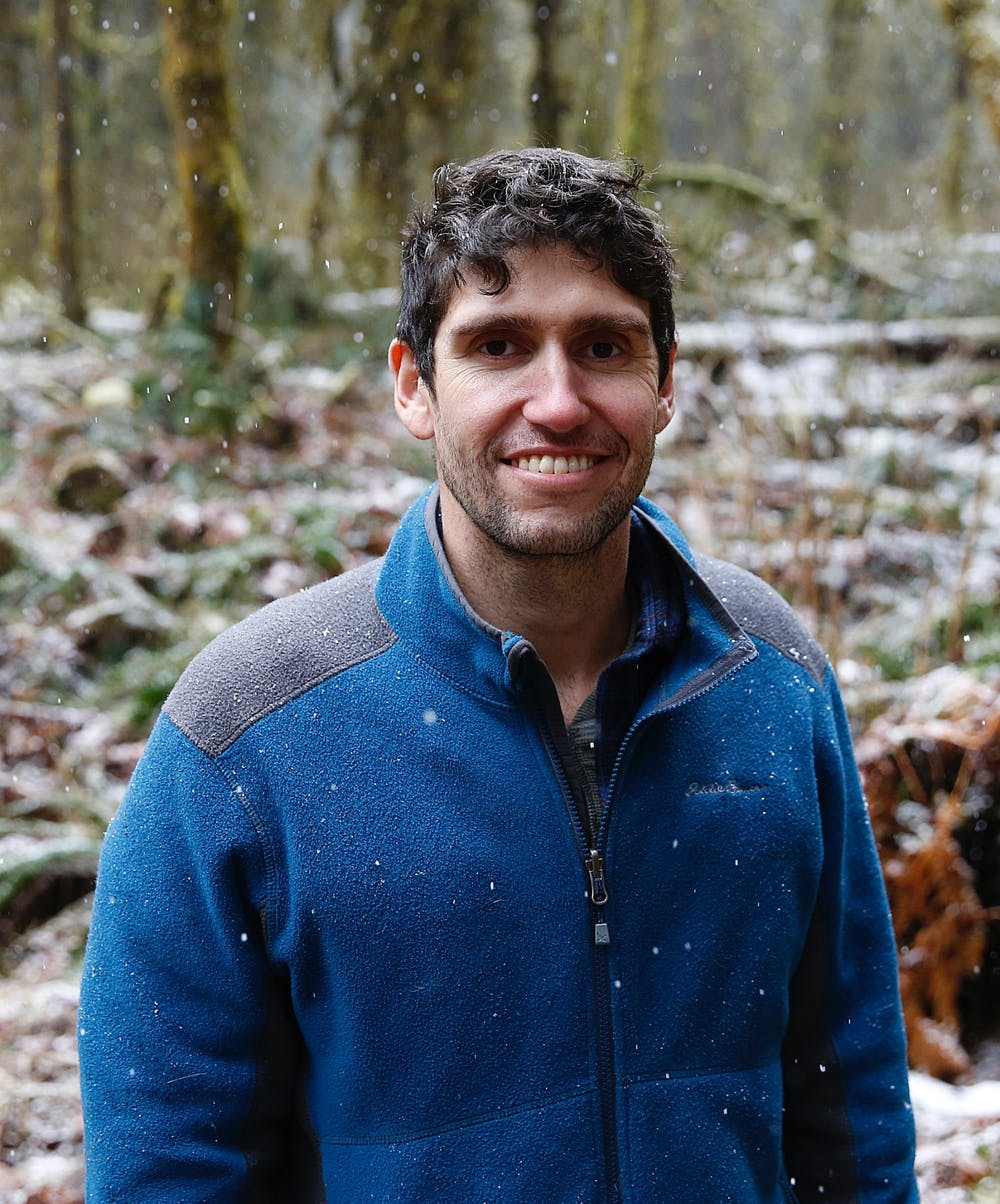 <p>&nbsp;Pictured is environmental journalist and Beaver Believer Ben Goldfarb.&nbsp;</p>