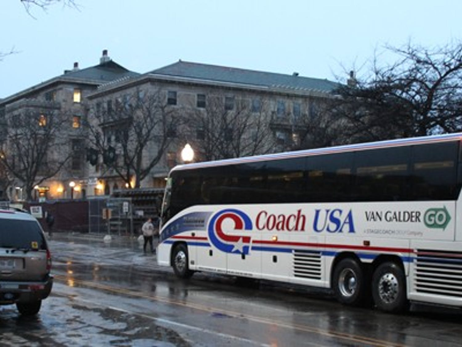 Popular regional bus companies will no longer load passengers outside of Memorial Union due to safety and traffic concerns, like narrow streets and sidewalks that are heavily populated by pedestrians and bicyclists.
