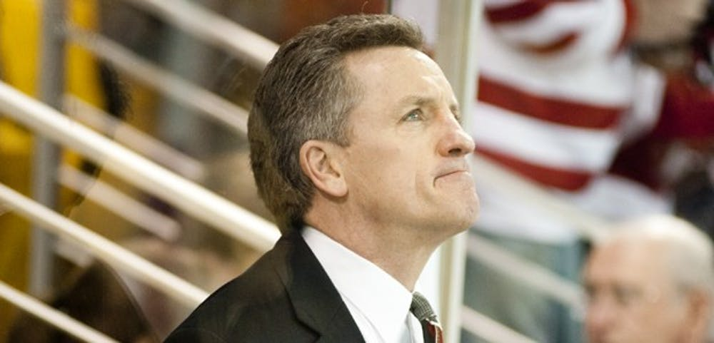<p>Wisconsin women's hockey head coach Mark Johnson was happy with how his team fared this weekend.</p>