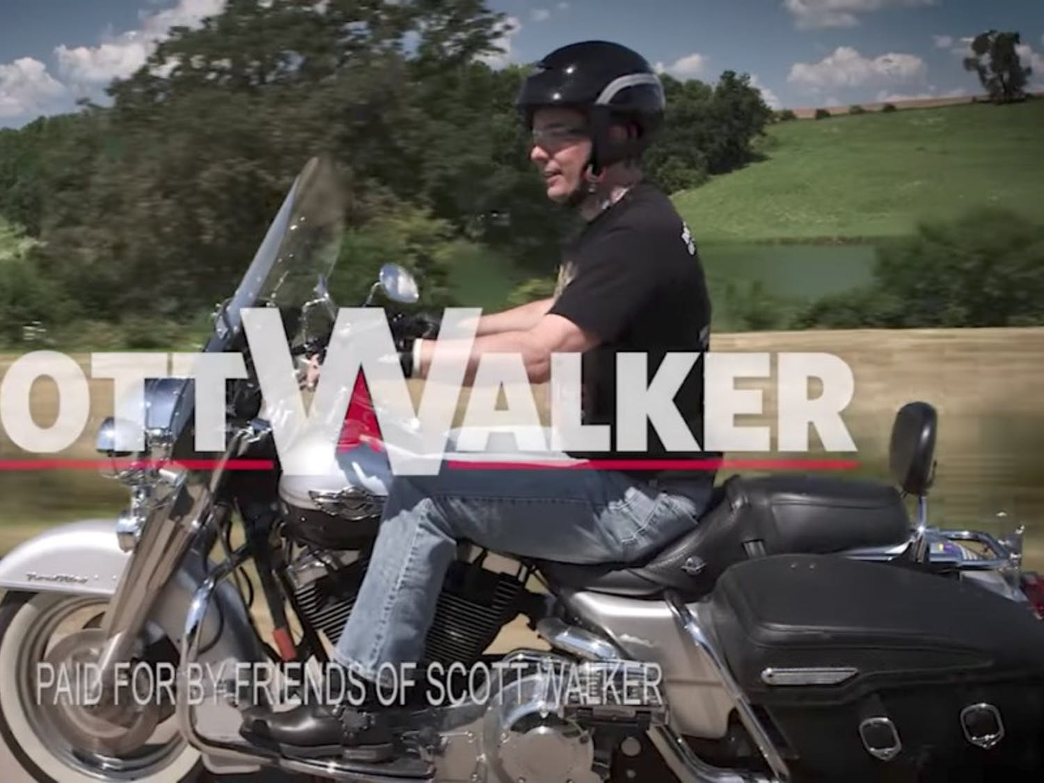 Gov. Scott Walker released a campaign video Wednesday ahead a formal re-election announcement.