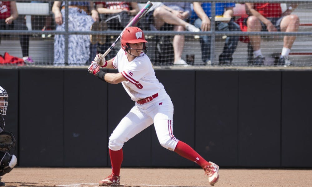 Brooke Wyderski, a former Loyola-Chicago softball player, is now helping to carry UW in her senior season.