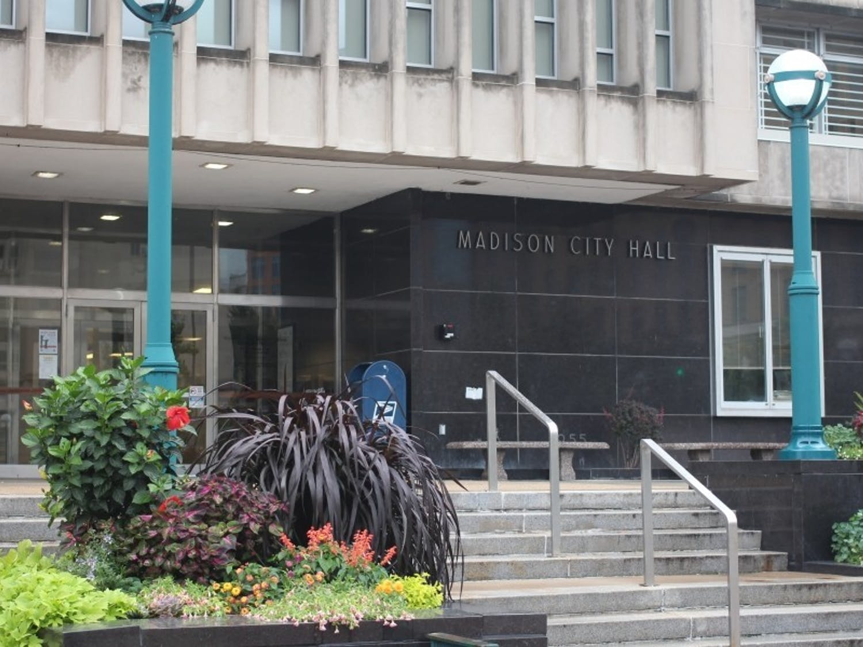 Photo of the Madison City Hall.