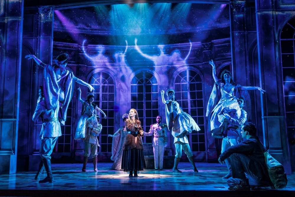 "The national tour of ""Anastasia"" stops in Madison for an eight-show run, filling the Overture Center with idyllic sets and songs."