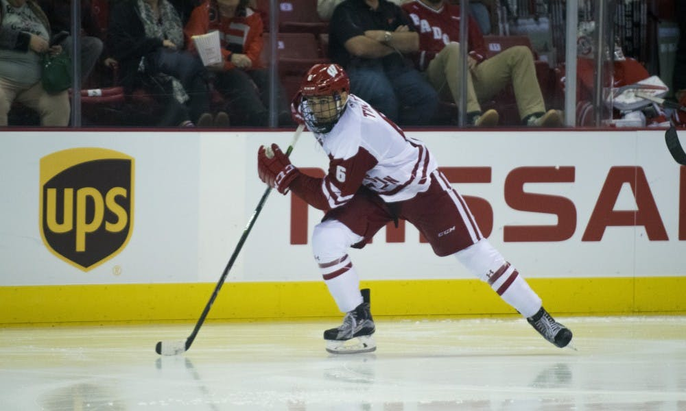 Defenseman Peter Tischke was almost cut when Granato took over, but since then he's come to embody all the characteristics that 'Badger hockey' represents.
