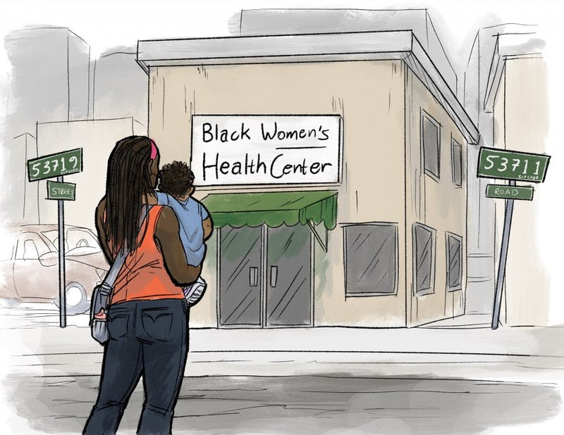 A space dedicated to black women's health is to open this summer straddling two of the city's highest-need neighborhoods