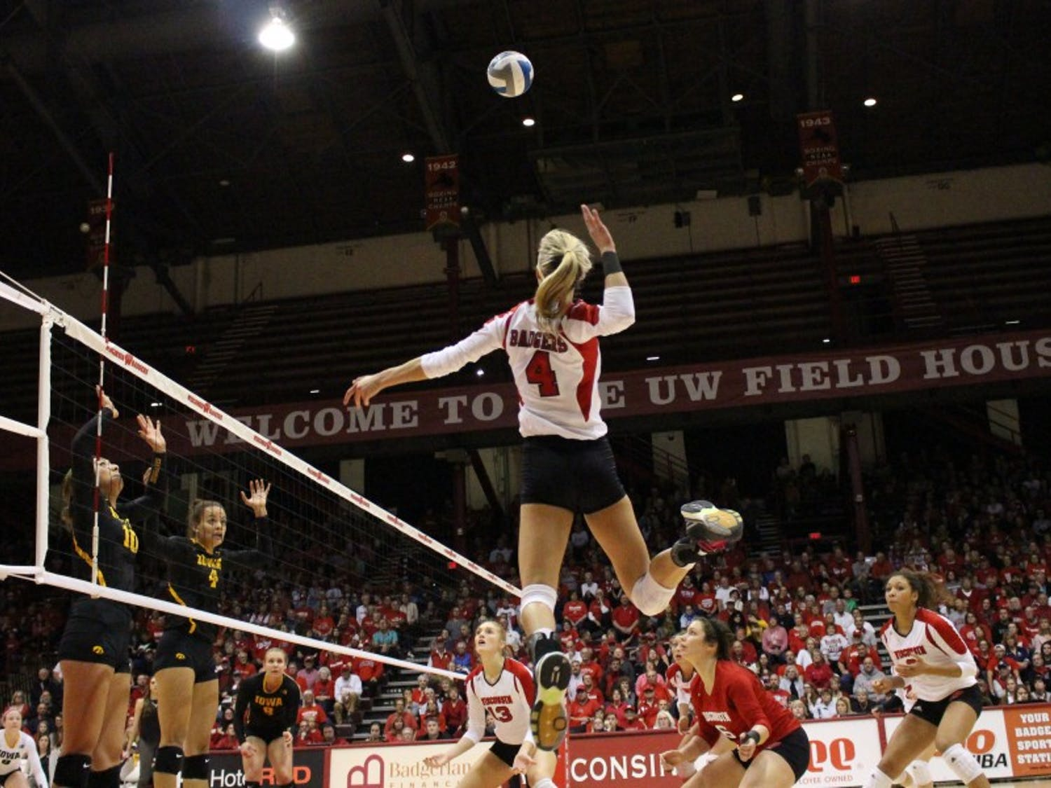 Kelli Bates knows that the Badgers can't look past Maryland, despite the big matchup with Minnesota this weekend.