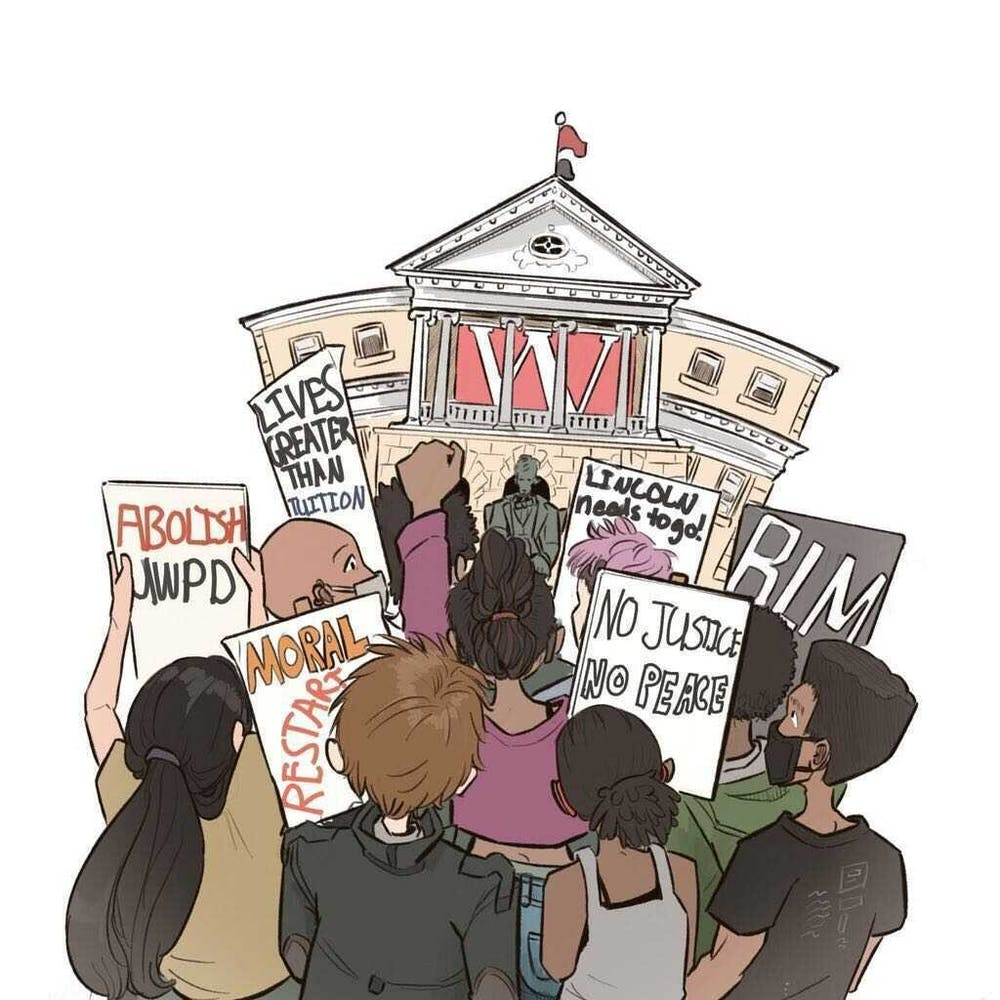 <p>The UW-Madison BIPOC Coalition demands equal justice for marginalized students on campus, however have been continuously ignored by UW Administration.&nbsp;</p>