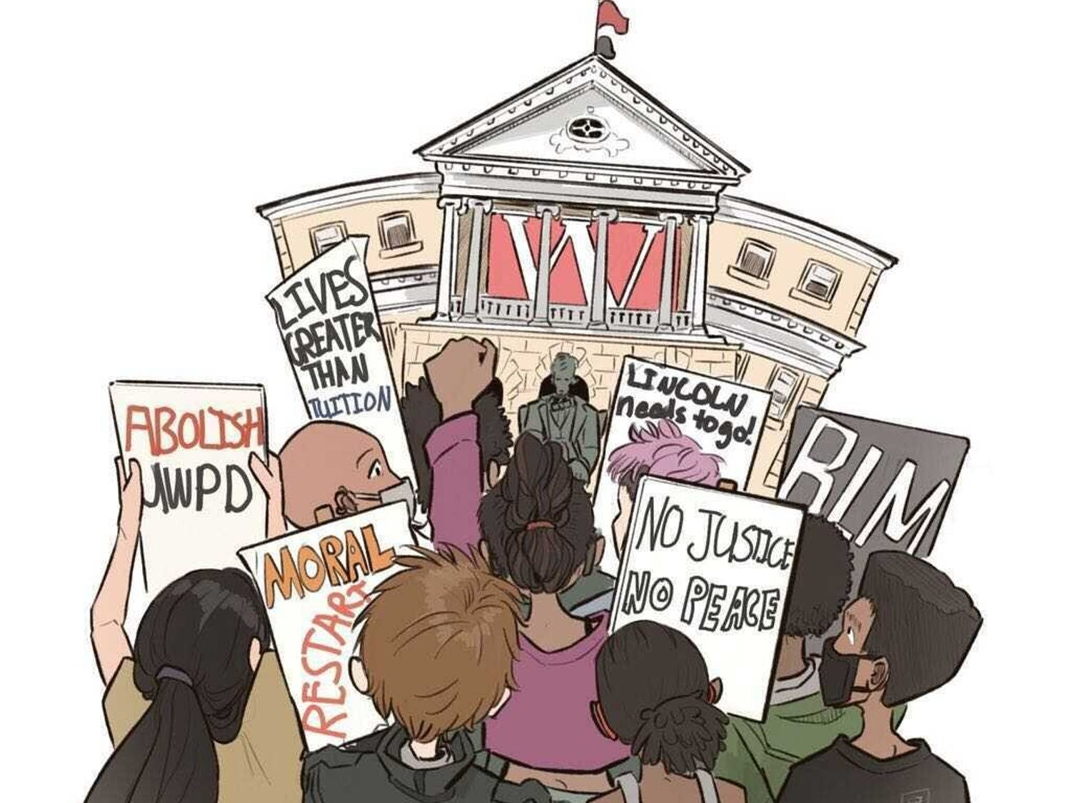 The UW-Madison BIPOC Coalition demands equal justice for marginalized students on campus, however have been continuously ignored by UW Administration.
