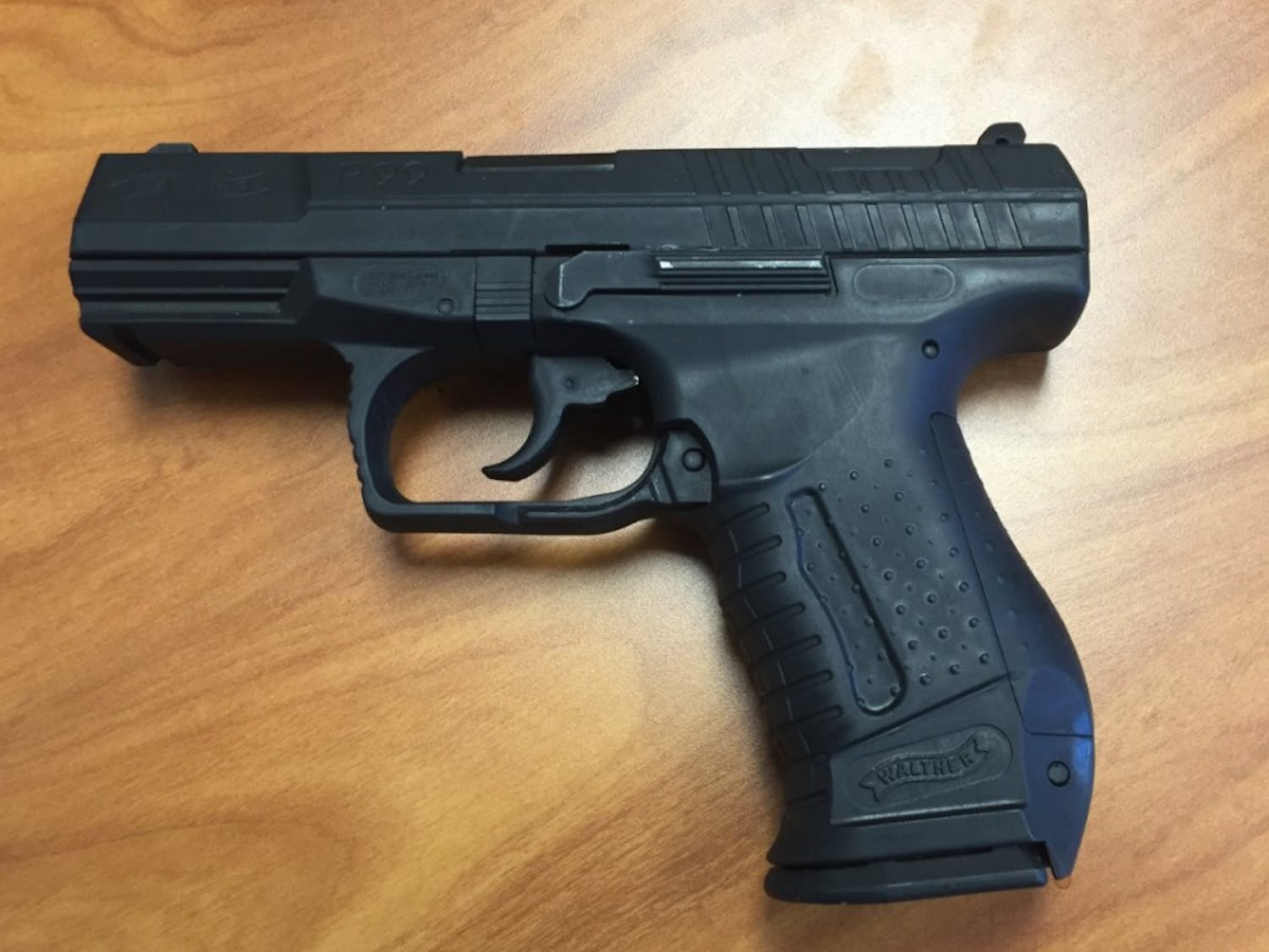 BB guns, such as this one involvedin the Wednesday incident,can be modified to look similar to real guns.