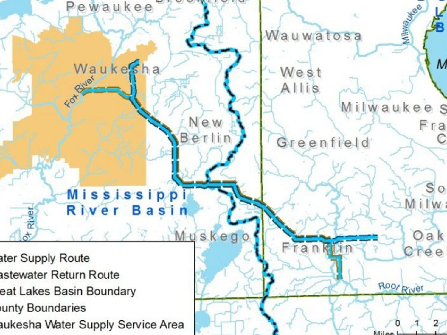 Waukesha is applying for an exemption to pull water from the Great Lakes basin, a move whichhas generated significant controversy.