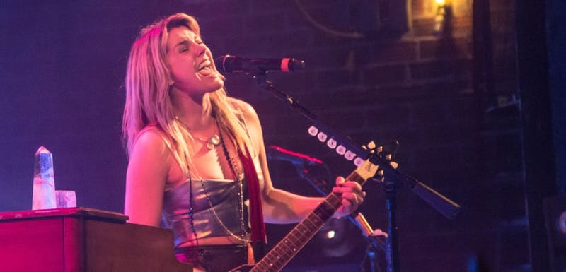 Grace Potter performed at the Barrymore Theatre Saturday night.