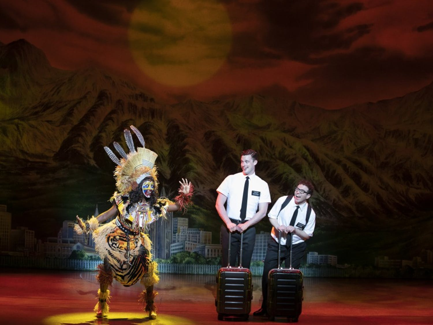 """The Book of Mormon"" fails to evolve, persisting racism in a controversial political climate. Is it time to pull the curtain?"