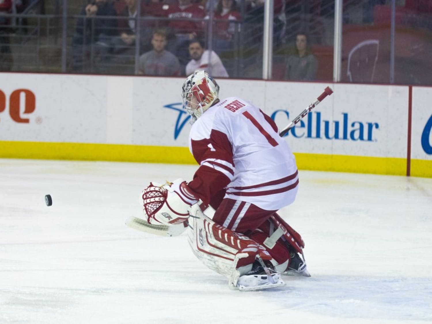 Junior goaltender Jack Berry produced one of his best performances of the season in his first action in over a month, but it wasn't enough for the Badgers to come out with a win against Denver.