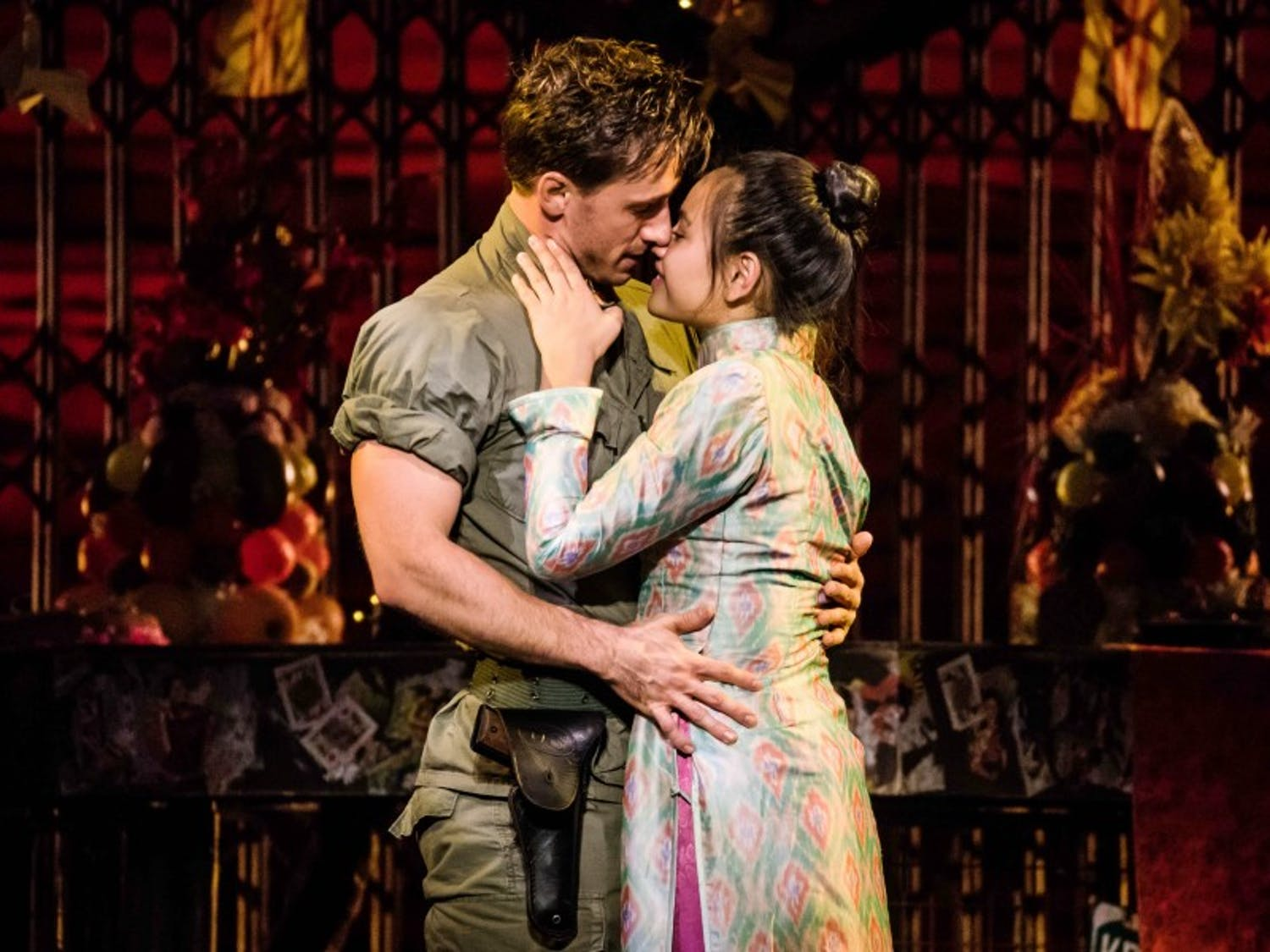 'Miss Saigon' played at the Overture Center in Madison, garnering backlash and protest from the Asian American campus community.