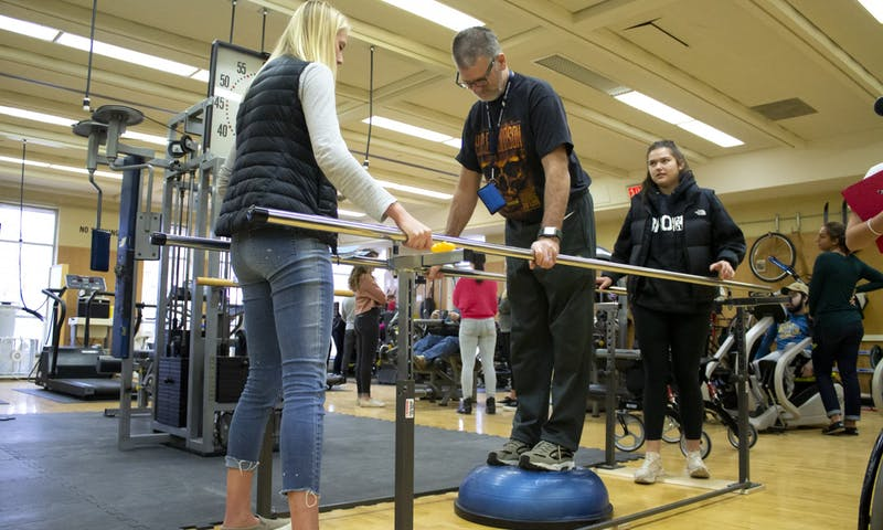 Mark Grasser has been a client at Adapted Fitness for a few years now, recovering lost mobility in his legs and breaking his friends lifting records.