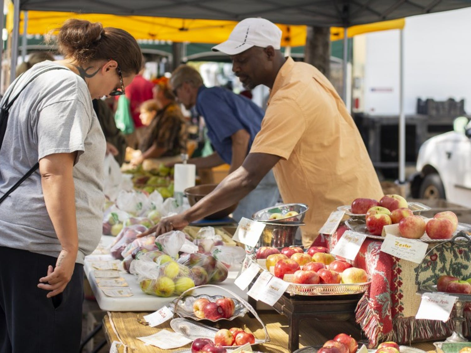 Madison's first public market promises to showcase many locally grown and prepared foods, along with handcrafted artwork.