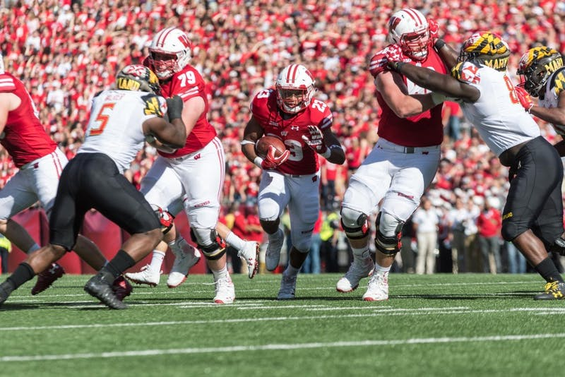 Sophomore running back Jonathan Taylor carried Wisconsin's offense out of a scoreless drought and ended the game with 205 yards.