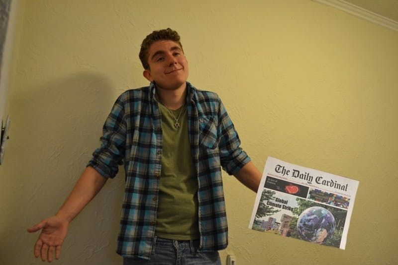 Smart-ass wants everyone to know he's confused why the Daily Cardinal is only published once per week.