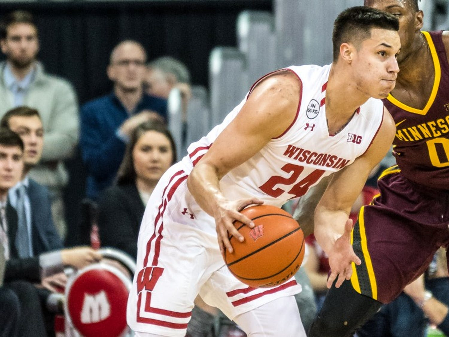Bronson Koenig went on a shooting tear to seal Wisconsin's victory.