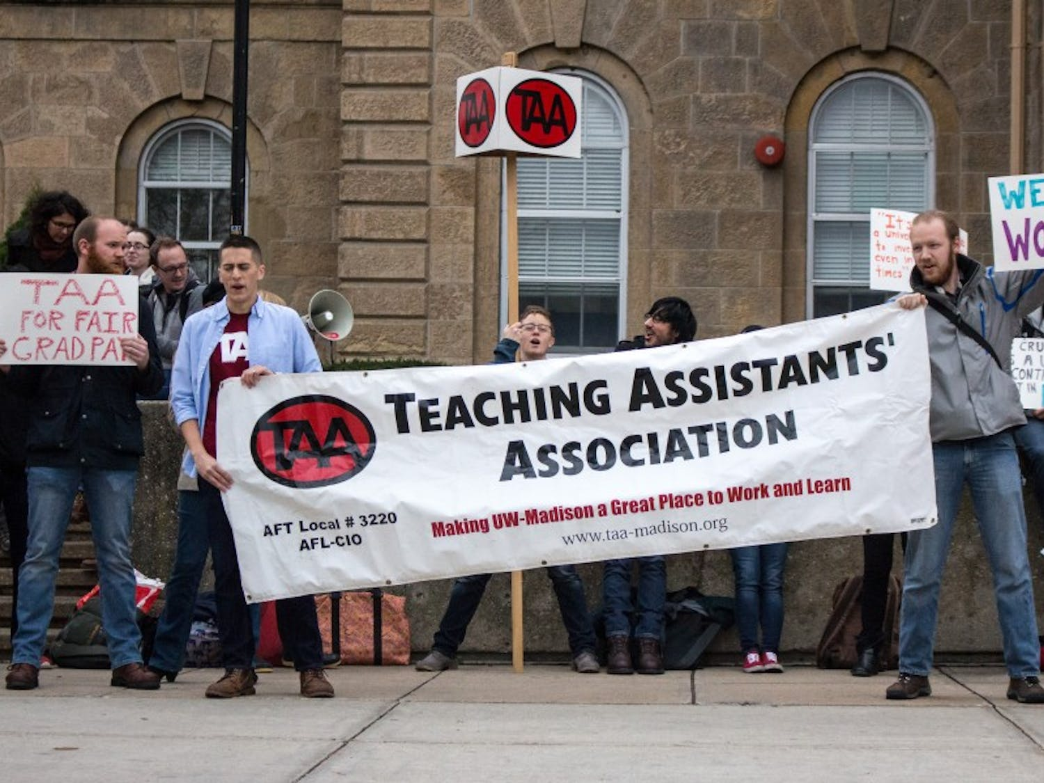 With the help of student government resolution, TAA resists new segregated fees policy